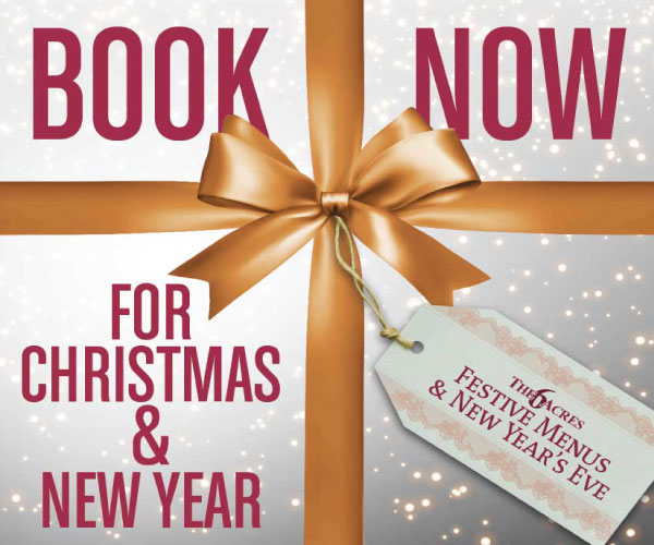 Book Now For Christmas & New Year