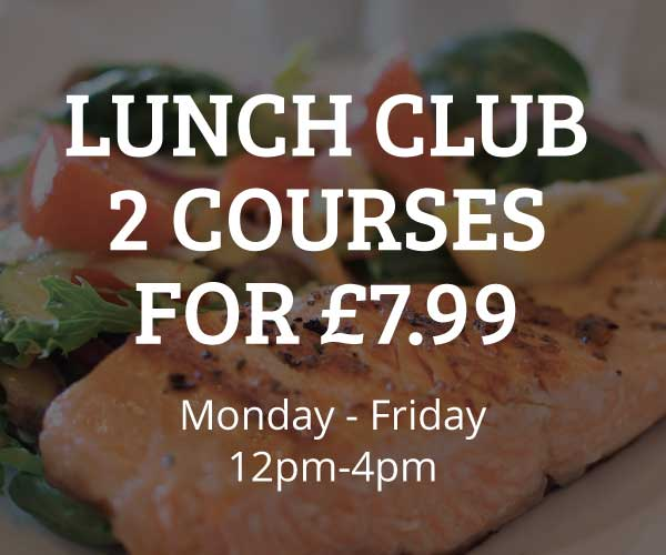 2 COURSES FOR £7.99