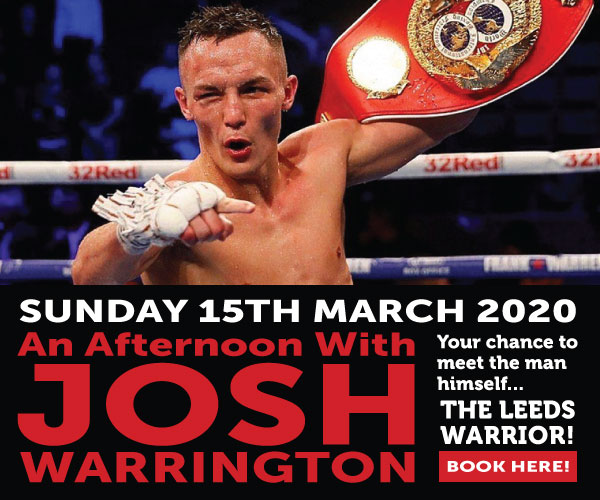 JOSH WARRINGTON – SUN MAR 15TH